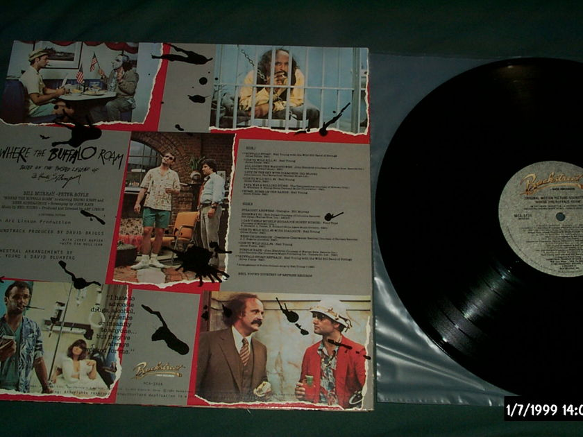 Neil Young - Where The Buffalo Roam Soundtrack LP NM