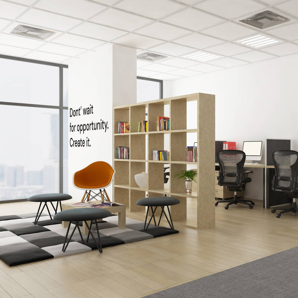 Furnish the office