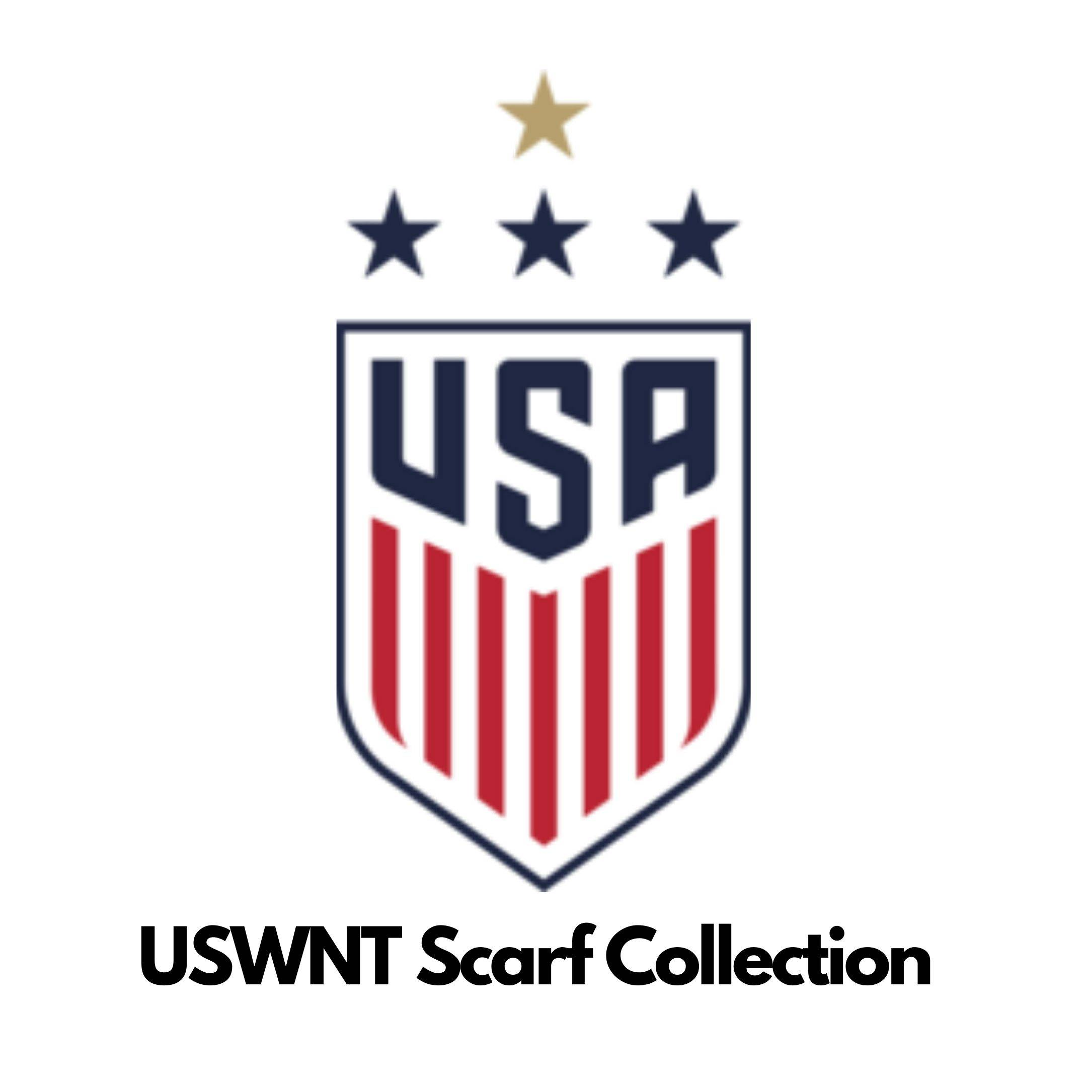 USWNT scarf collection
