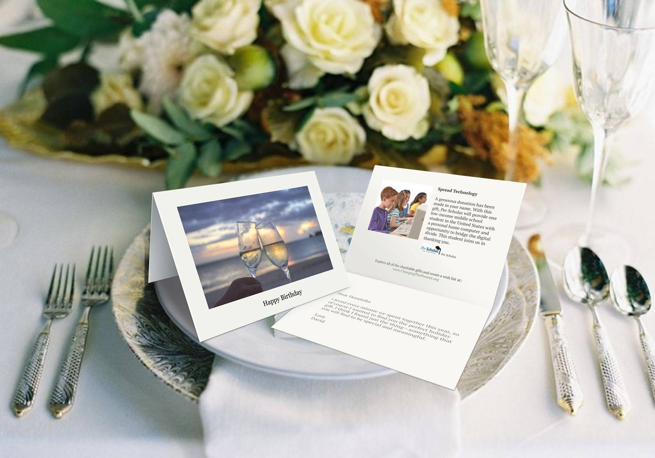 Wedding Page – Changing The Present