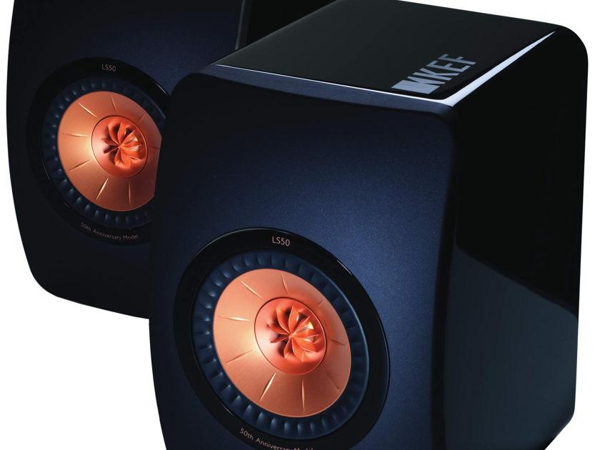 KEF LS 50 Mini Monitor Speaker Pair