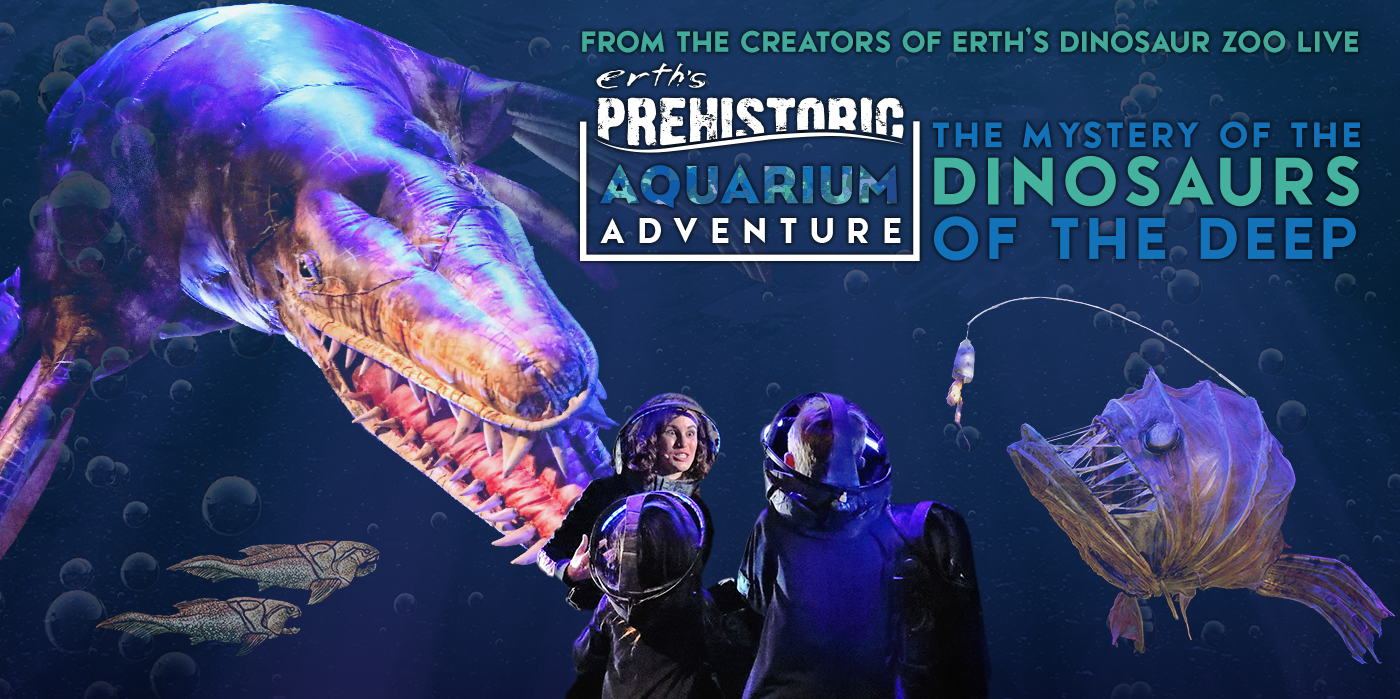 Erth's Prehistoric Aquarium Adventure at the Shubert Theatre