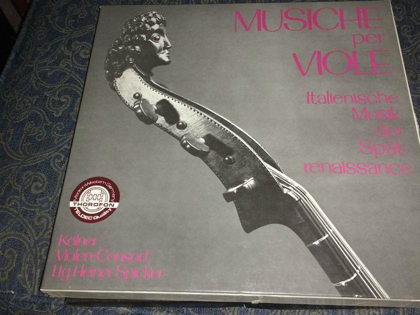 Kolner Violen-Consort - Musiche per Viole Box Set Thorofon