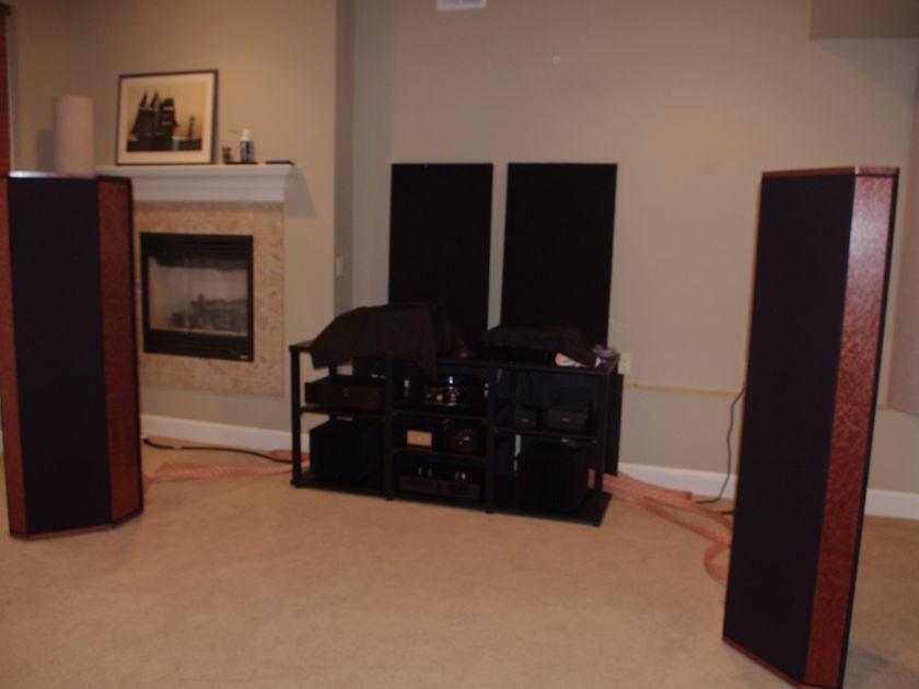ESP  Concert Grand  SI Speakers - Burl Wood