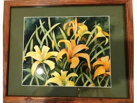 """Joan Dupuy """"Day Lilies"""""""