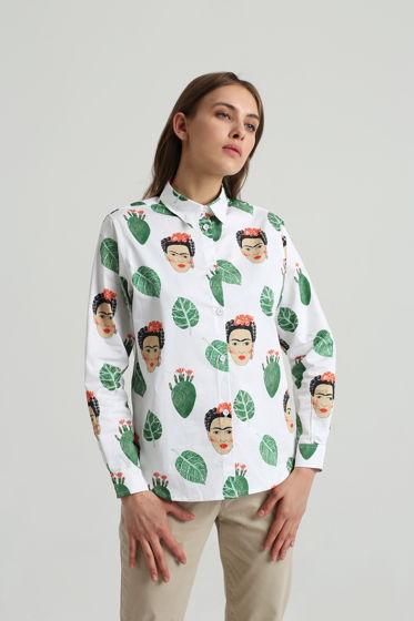Рубашка с Фридой Кало