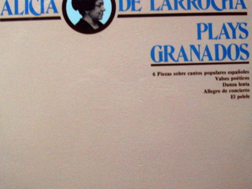 ★Sealed★ Vox Turnablut /  - ALICA DE LARROCHA plays Granados!