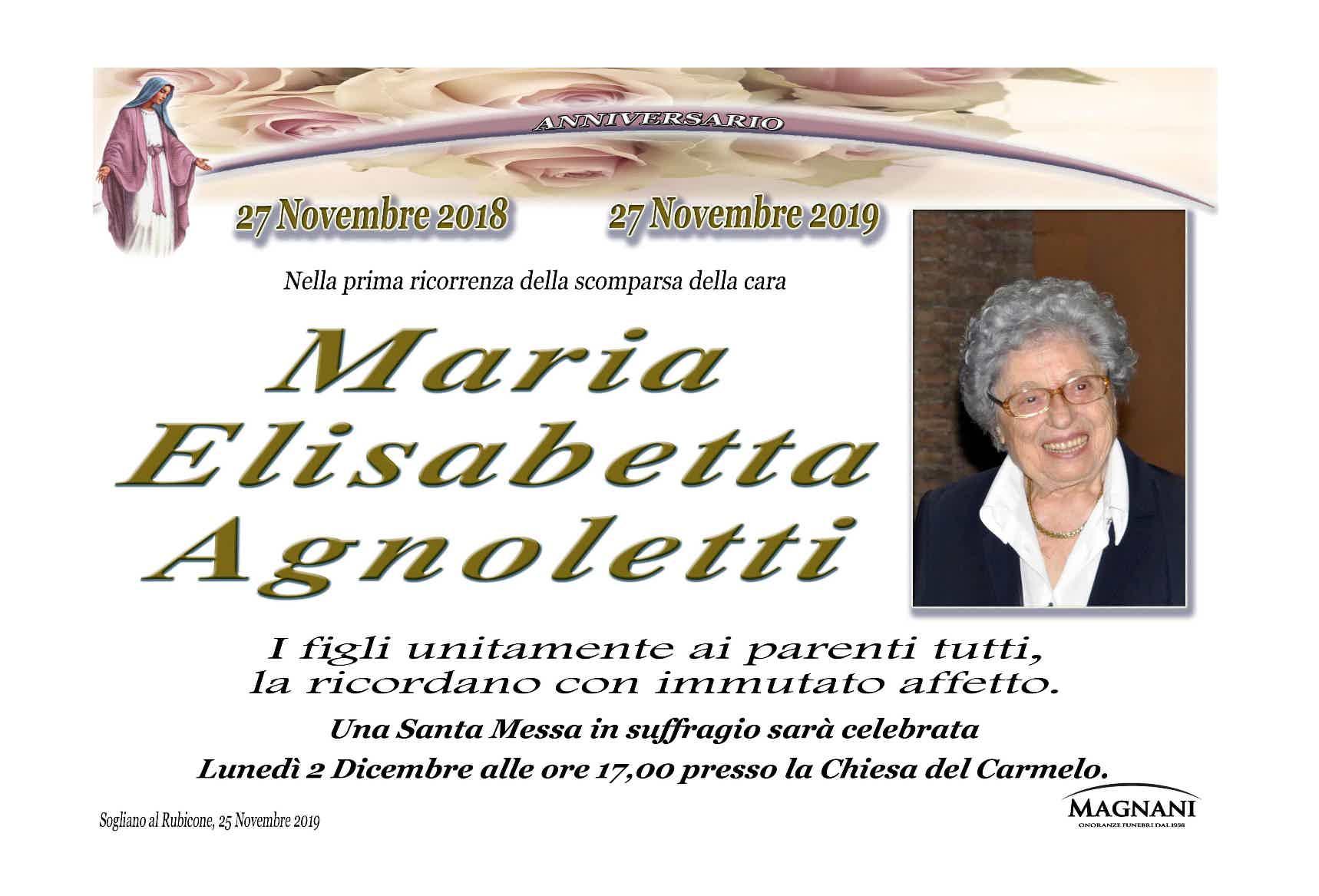 Maria Elisabetta Agnoletti