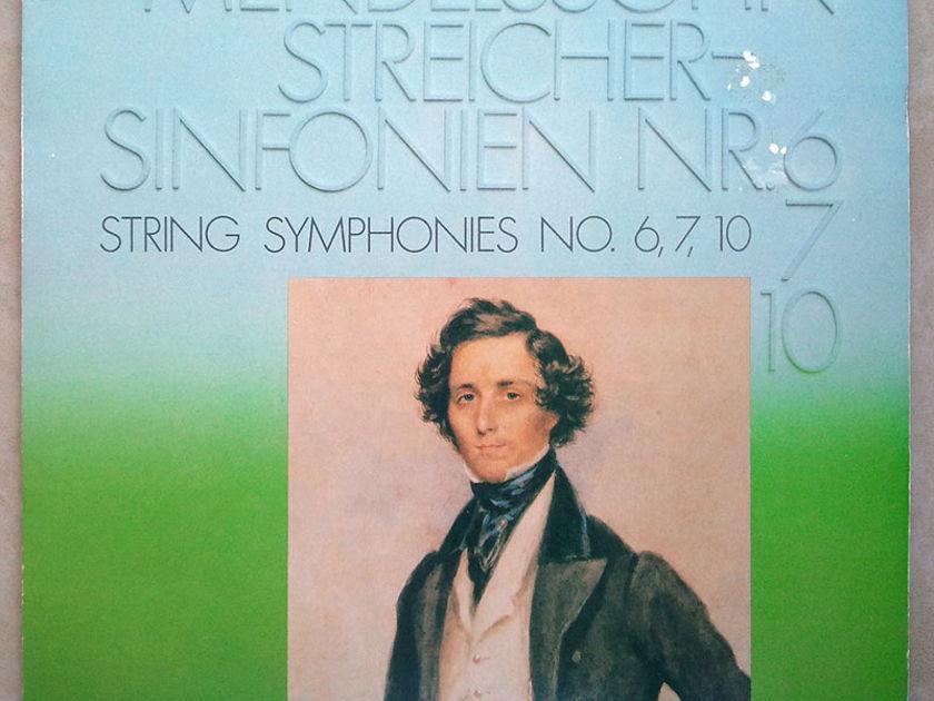 Pro-Arte/Mendelssohn - String Symphonies Nos 6, 7, 10 / NM