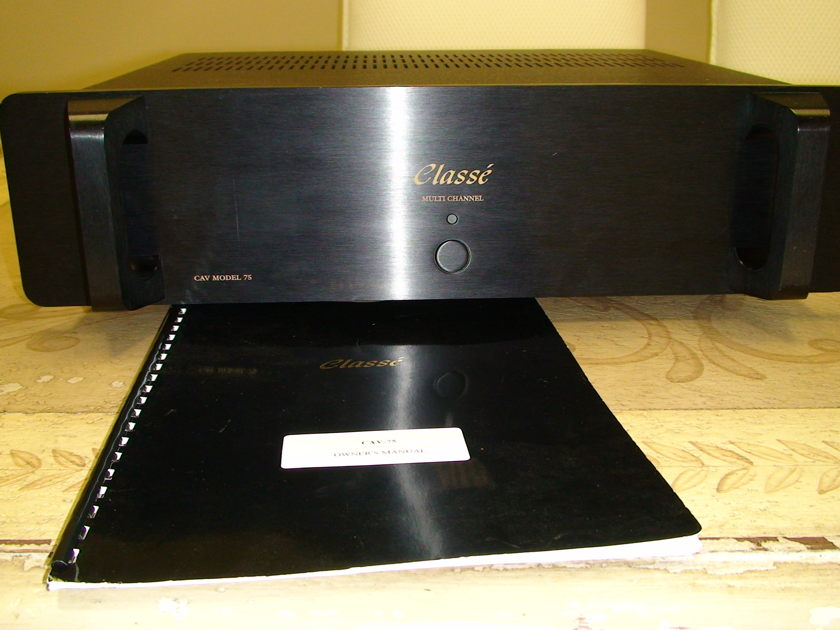Classe CAV 75 Multi Channel Amplifier