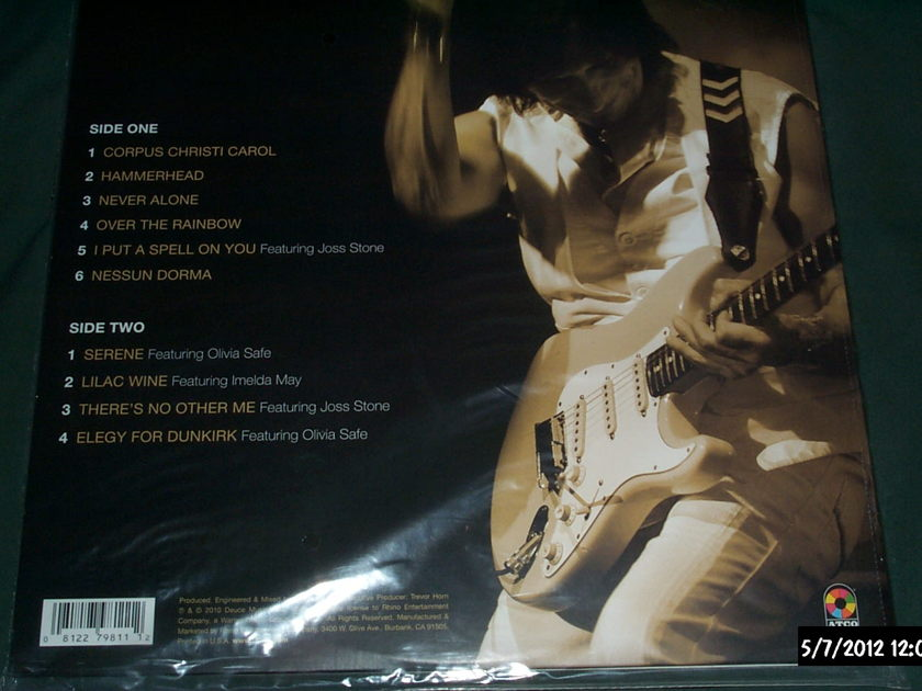 Jeff beck - Emotion & Commotion ltd 3000 copies sealed lp