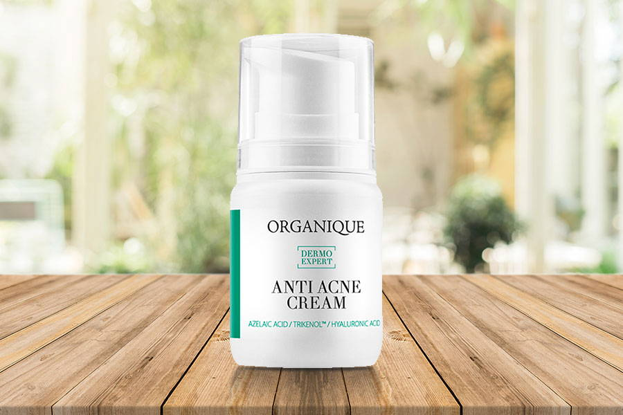 Hydrating Face Cream For Acne And Problematic Oily Skin 50ml bottle with feeder Organique