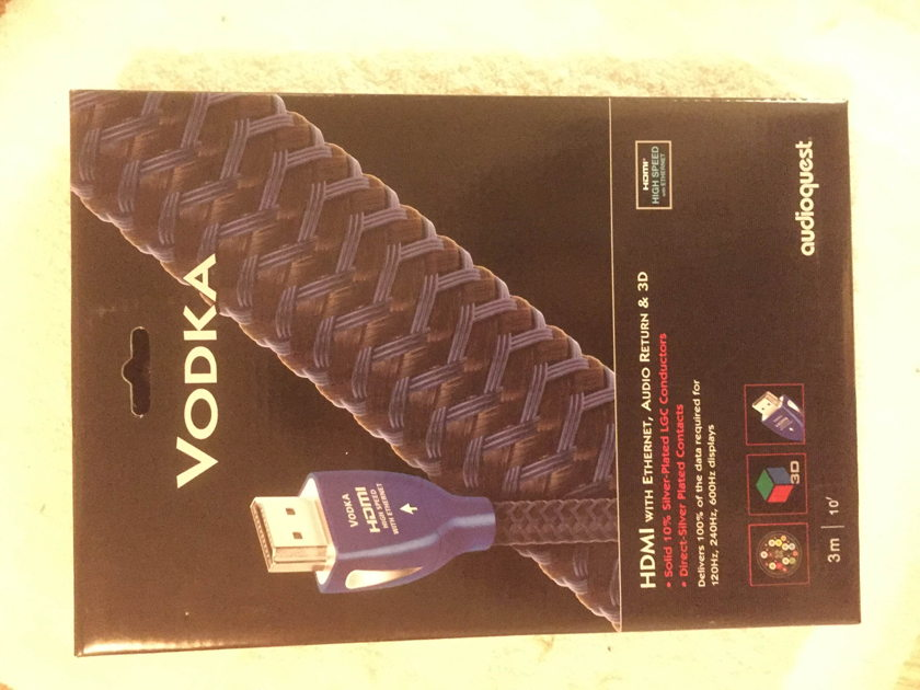 Audiogon VODKA HDMI Cable - (3) meter - BRAND NEW!