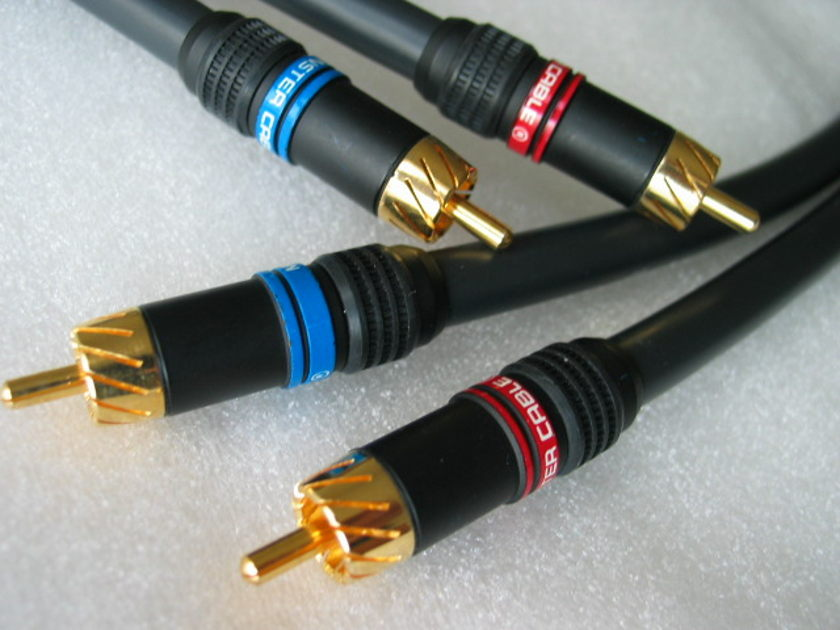 Monster Cable M Series M1000i RCA / RCA interconnect cable 1M