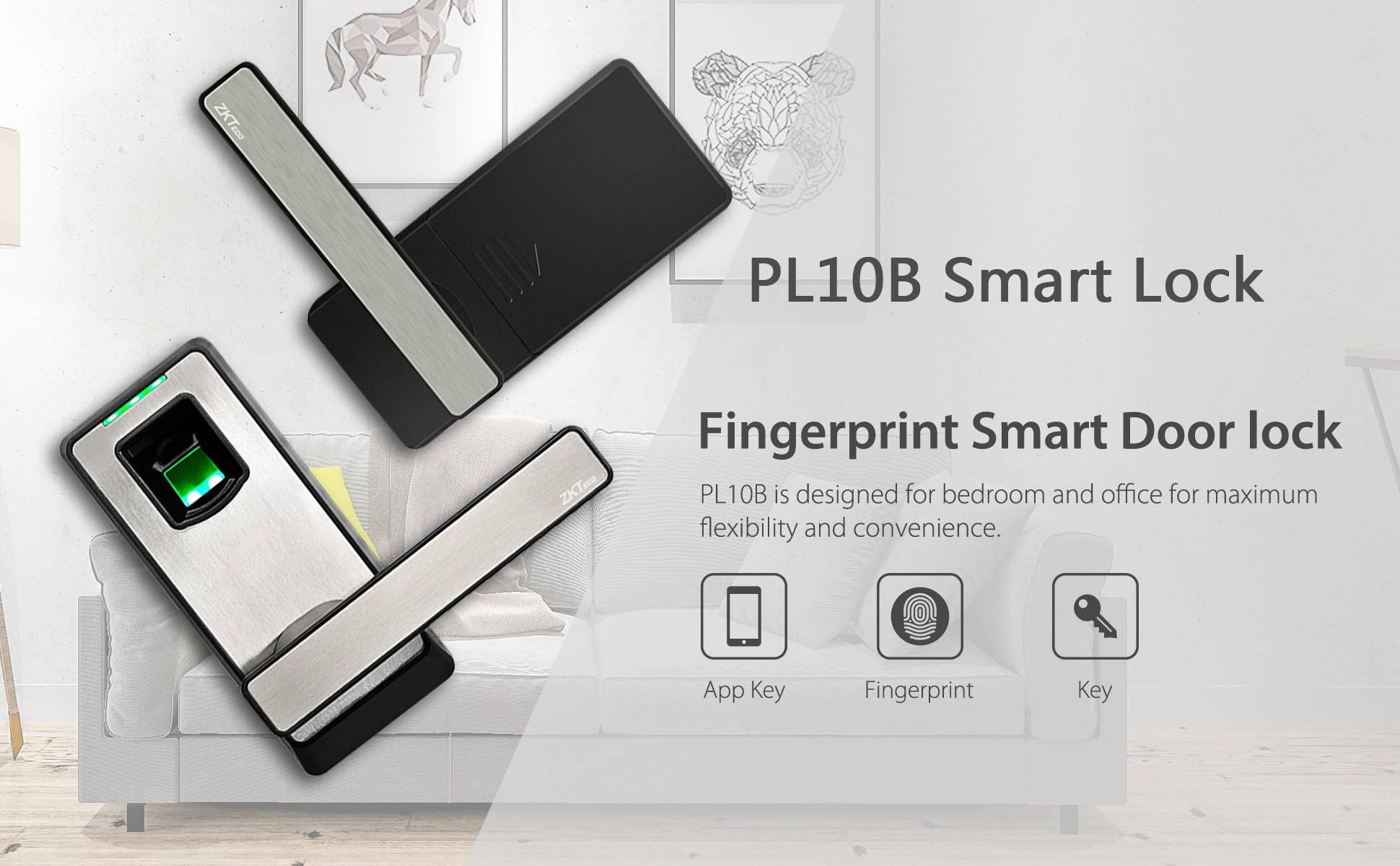 fingerprint smart door lock banner