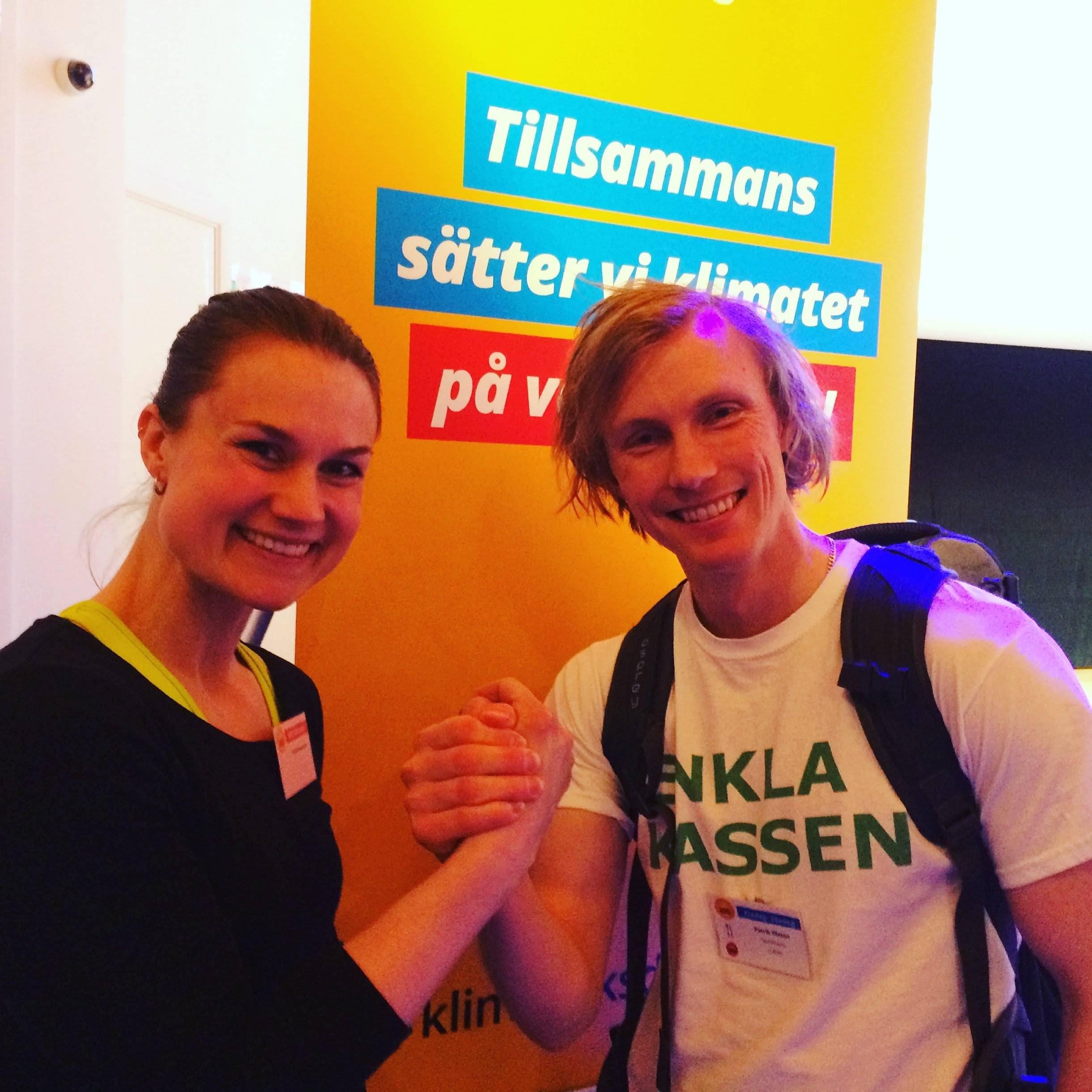 Heidi Andersson, värlsmästare i armbrytning, klimatinspiratör med målsättning fossilfri 2025