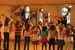 kindergeburtstag at move style dance academy