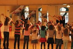 kindergeburtstag at move style dance academy