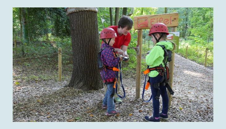 kletterwald freischütz sicherheit geht vor