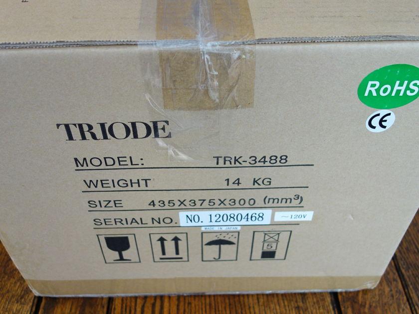 Triode Corporation TRK-3488 Class A Tube Amp Custom Build Audiophile Amp