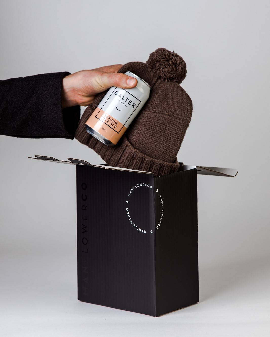 Will & Bear Beanie + Beer, part of Manflower Co's range of Father's Day Gifts.