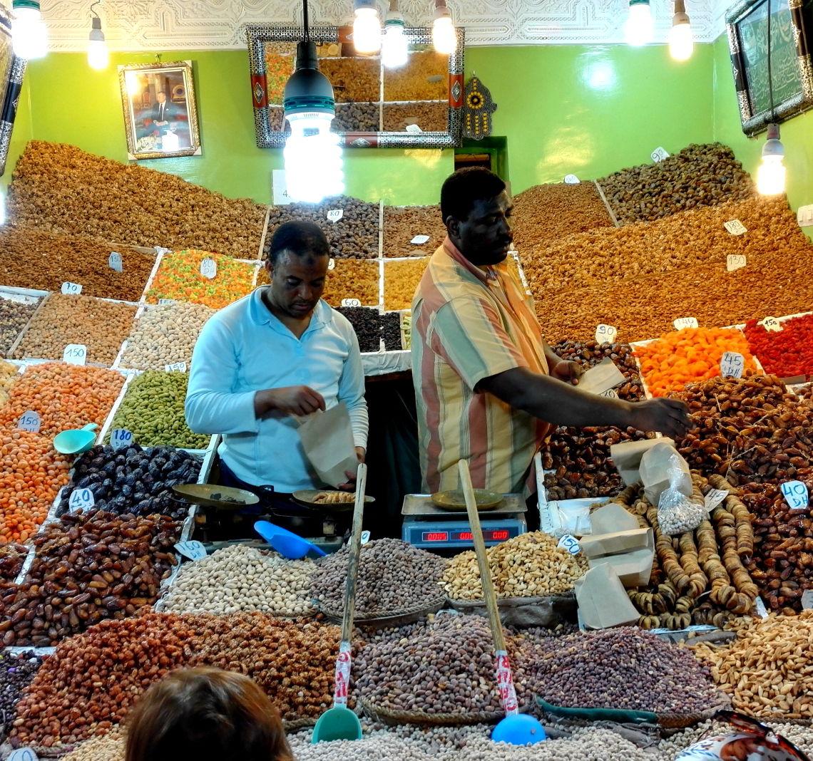 Marokkanische Nüsse