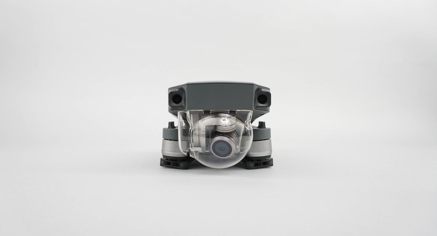 The Phantom 4 and Mavic Pro are both equipped with the same cameras, but the Mavic's holds a smaller field of view. The focal range of the Mavic is 0.5m to infinite, and can support a 2x digital zoom, but not optical zoom. The camera can also be turned 90 degrees to portrait mode, to capture high resolution panoramas, vertical selfies, or video. When shooting in full auto, users will notice the limitations of the Mavic's smaller sensor, but considering the overall size of the unit, the camera is perfectly built. The camera also performs extremely well in low light, with less noise at a higher ISO.