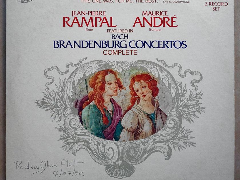 RCA/Paillard/Rampal/Andre/Bach - Brandenburg Concertos Complete / 2-LP set / NM