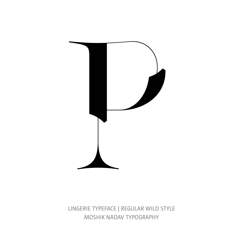 Lingerie Typeface Regular Wild P