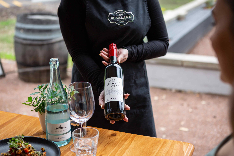Blaxland Inn Serving Wine