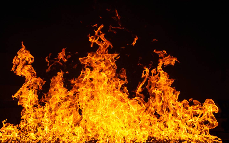 Plate fire
