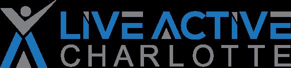 Live Active Charlotte logo
