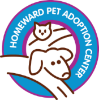 logo for our partner Homeward Pet Adoption Center