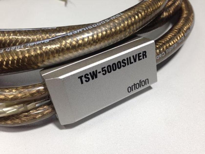 ORTOFON  TSW 5000 SUPER PURITY SILVER 99.9999   very rare  FREE SHIPPING