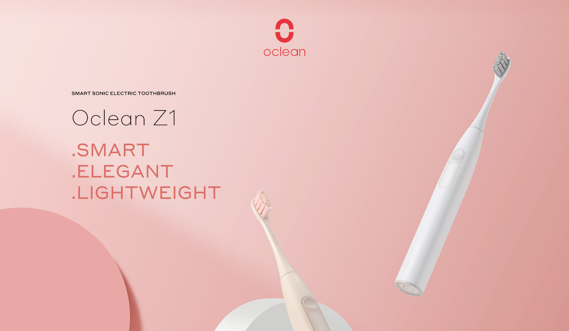 Oclean Z1 smart elegant lightweight