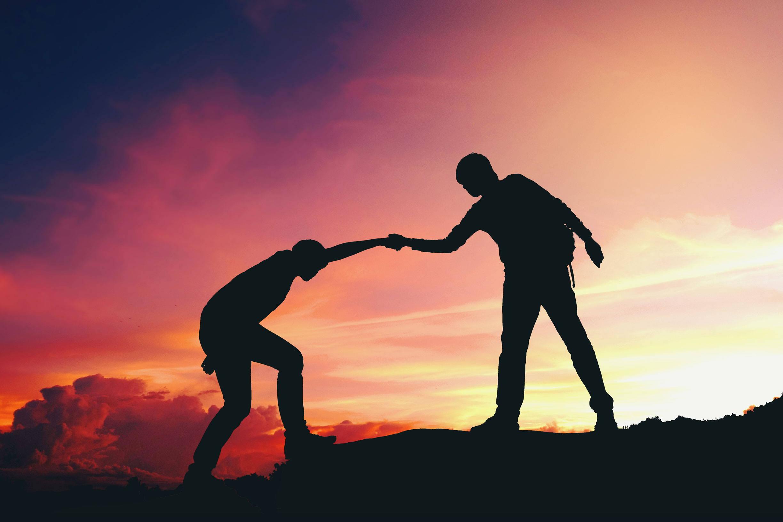 Man Helping Man