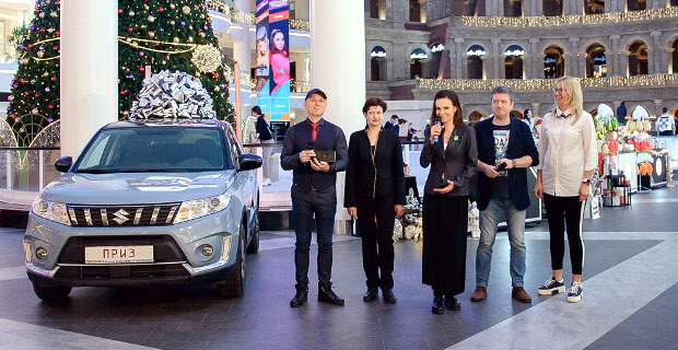 Победительнице суперфинала игры «Много автомобилей. Сезон премьер» на «Авторадио» вручили ключи от Suzuki Vitara - Новости радио OnAir.ru