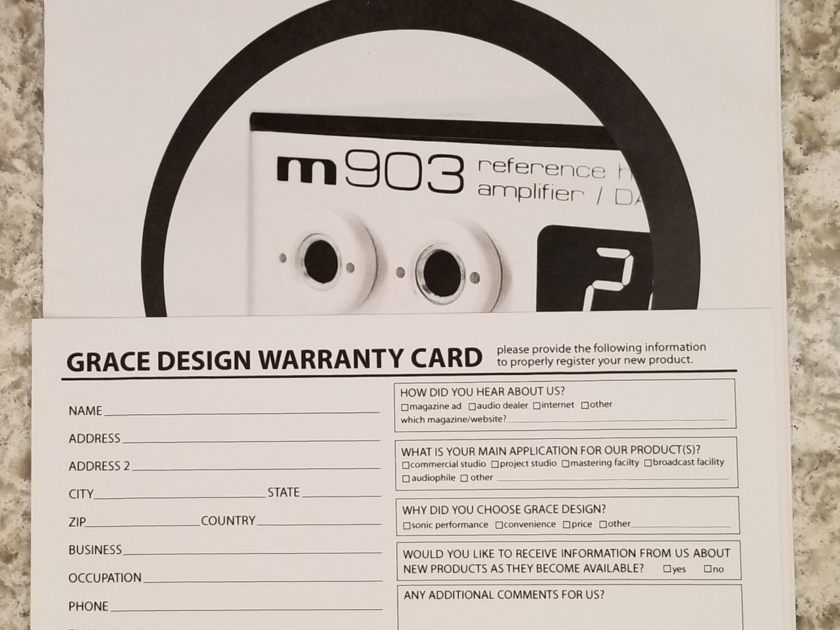 Grace Design M-903
