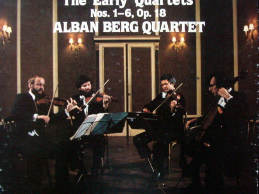EMI Angel Seraphim / ALBAN BERG QT, - Beethoven The Early Quartets, MINT, 3LP Box Set!