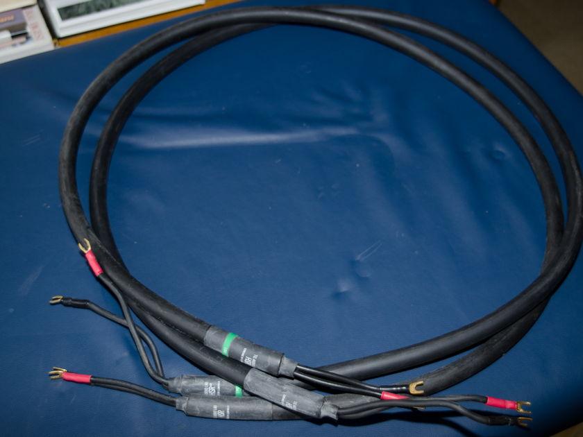 TG Audio HSR Silver Speaker Cable 8' length