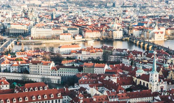 Полет на частном самолете в Чехии