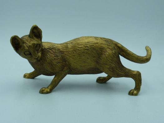 Фигурка бронзовая Кошка.