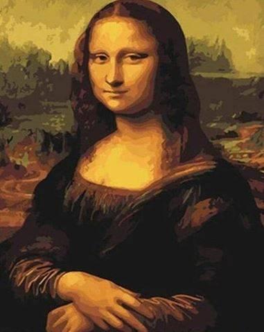 La Joconde peinture par numéro