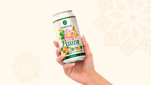 3 Américas Pasión - A Pasion Fruit That Inspired A Whole Visual Identity