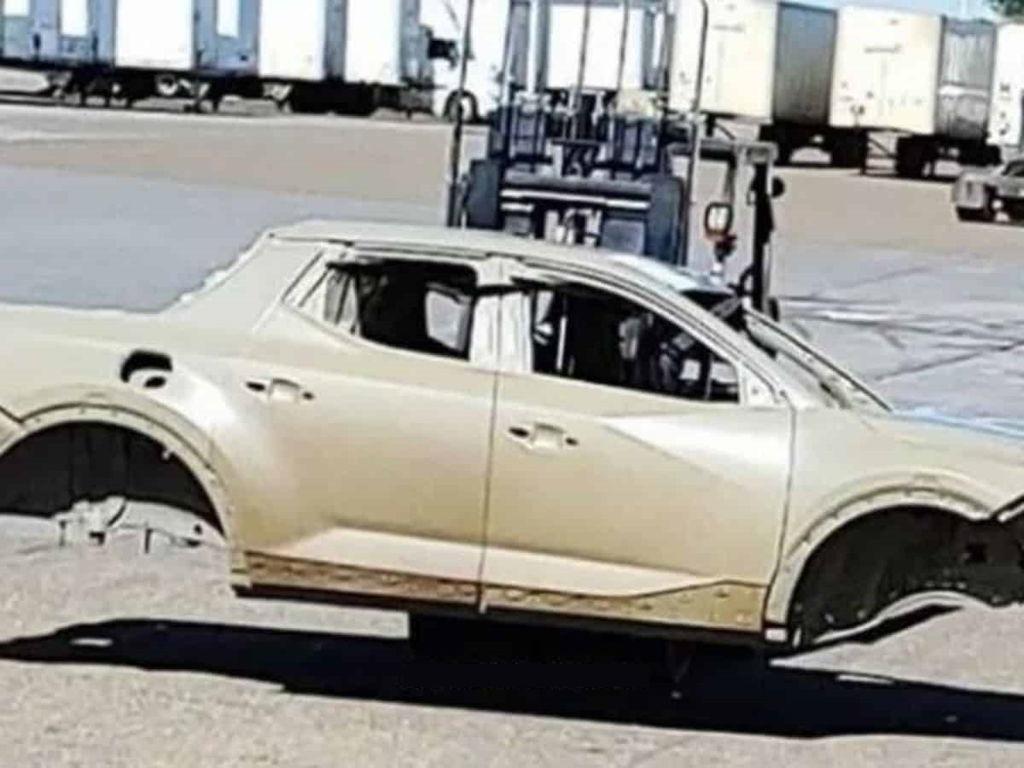 Hyundai Santa Cruz Carroceira