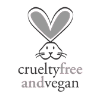 Logo of Peta that shows products are certified cruelty free and vegan