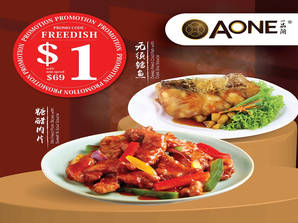 Enjoy $1 Free Dishes Campaign