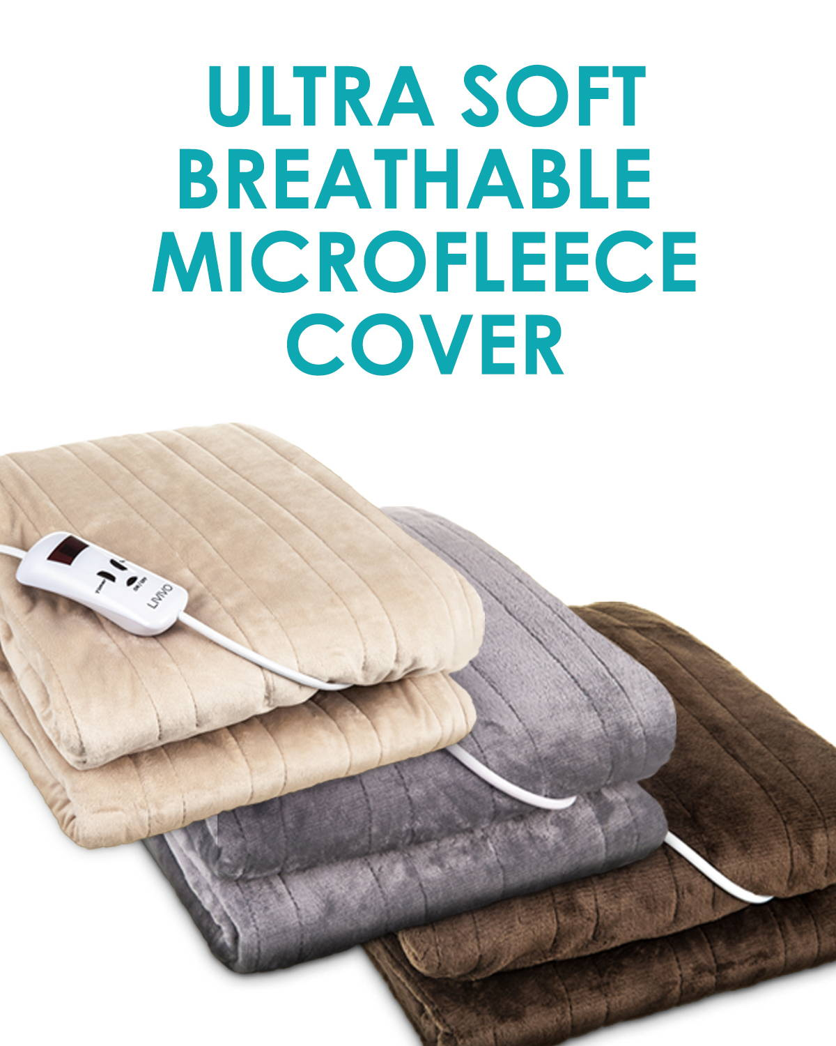 Ultra Soft Breathable Microfleece Cover