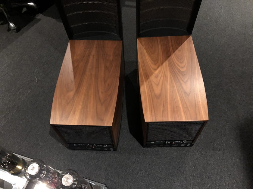 Martin Logan Expression ESL 13A Walnut NO BOXES local Chicago pickup only