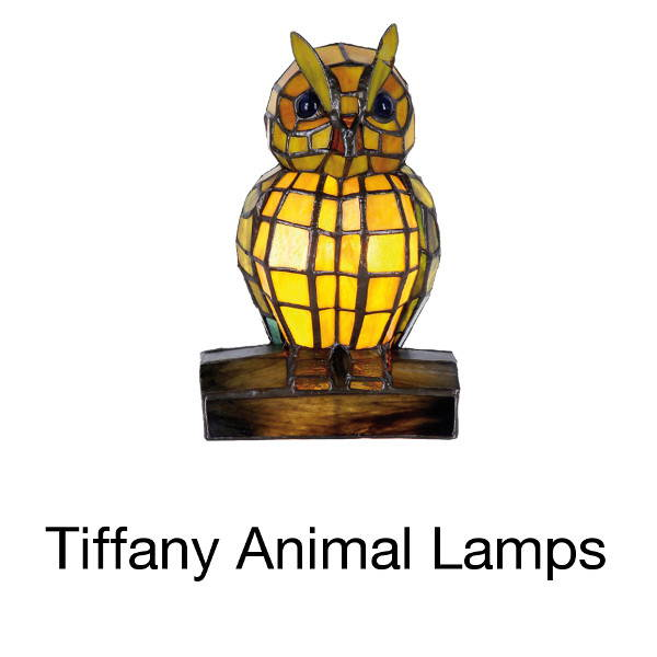 tiffany animal lamps